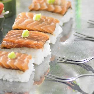 Salmon Sushi.