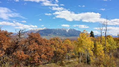 Photo: The Ragged Mountains viewed from the Buck Mesa Trail.