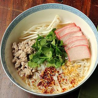 Weight Watchers Pork Noodle Soup