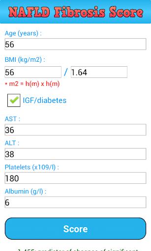 NAFLD fibrosis score