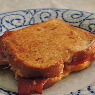Bacon Topped Grilled Cheese