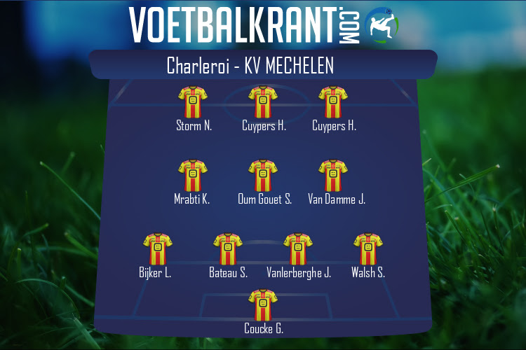 KV Mechelen (Charleroi - KV Mechelen)