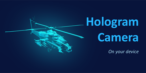 3D Helicopter Hologram