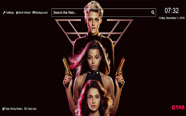 Charlie's Angels 2019 Wallpaper for New Tab