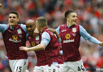 Jack Grealish toujours écarté du noyau A d'Aston Villa