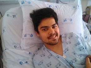 """Photo: """"Paulinho"""" é do Casal Pardo e está em tratamento numa clínica alemã"""