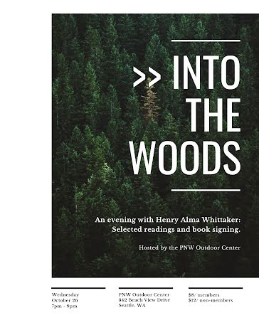 Into the Woods - Flyer Template