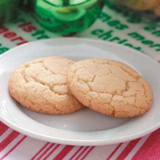 Almond Butter Cookies.