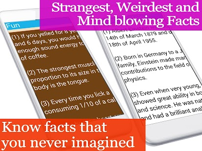 1001+ unbelievable facts- screenshot thumbnail