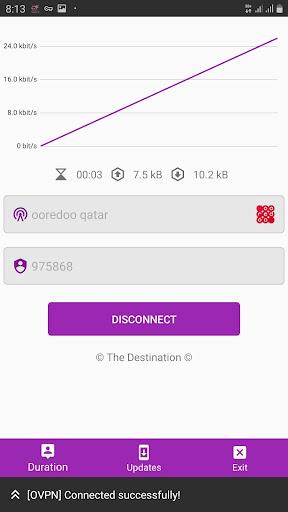 The Destination VPN 10.7 screenshots 5
