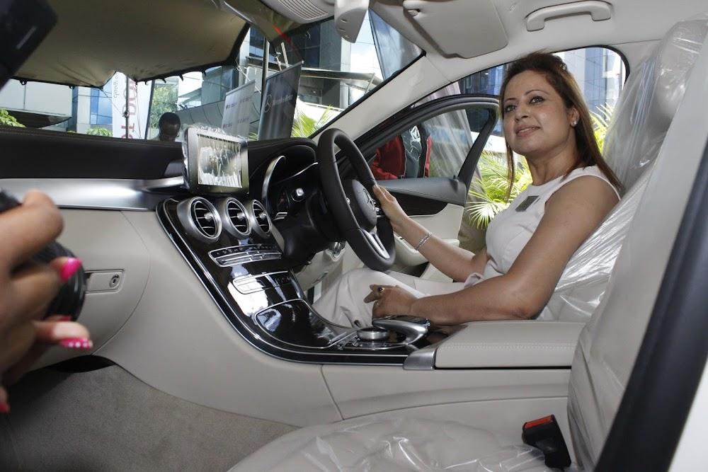 When the new Mercedes C-Class hit Kenyan market
