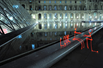 Photo: The proposal - Light painting by Christopher Hibbert, french photographer and light painter. Further information: http://www.christopher-hibbert.com