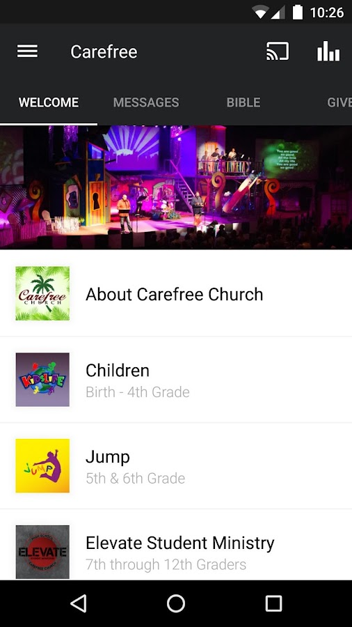 Carefree Church- screenshot