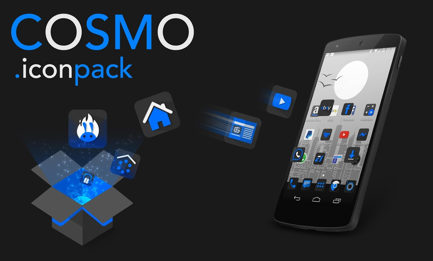 Cosmo - Icon pack- screenshot