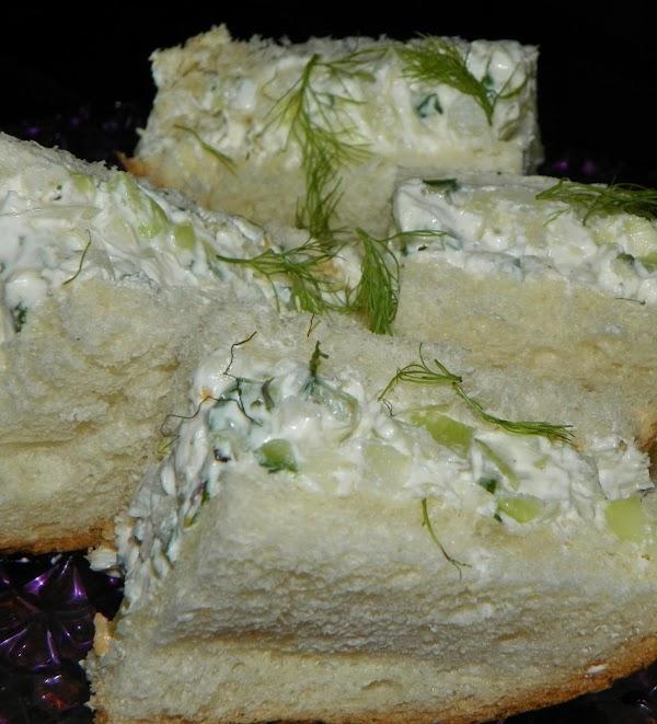Fennel Tea Sandwiches Recipe