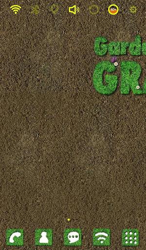 Gardening Grass launcher theme