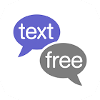 Text Free: Free Text + Call + Second Phone Number icon