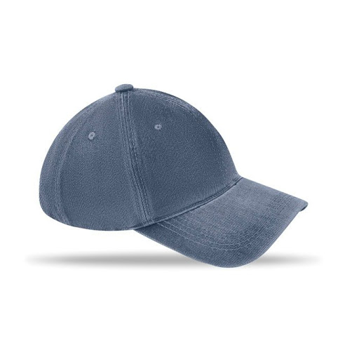 Washed Denim Baseball Cap
