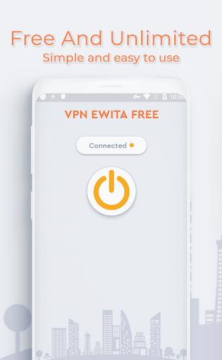 VPN Ewita Free, Unlimited, Secure and Unblock Site 1.1 screenshots 1