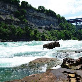 Niagara Fury!! by Sathish Kumar S - Landscapes Waterscapes ( waterfall, niagara )