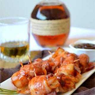 Bourbon and BBQ Shrimp Wrapped in Bacon