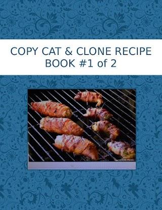 COPY CAT & CLONE RECIPE  BOOK #1 of  2
