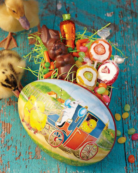 Photo: Enchanted Filled Easter Egg - To shop all Easter Food, go to: http://bit.ly/H0H0Vp