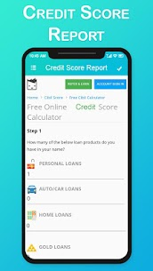 Credit Score Report Check: Loan Credit Score 3
