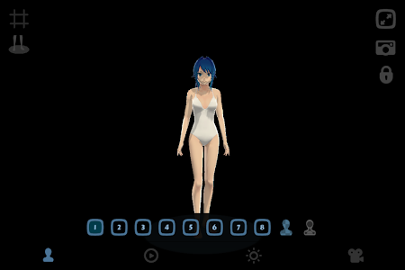 Anime Girl Pose 3D screenshot 0