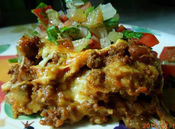 Chili Enchilada Pie Recipe