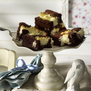 Chocolate and Coconut Brownies.