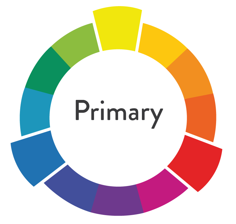 primary colors of color wheel