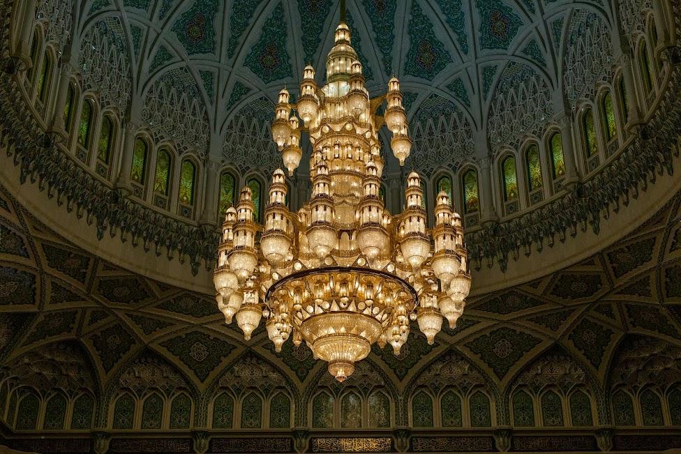 Wielki Meczet Sułtana Kabusa, żyrandol