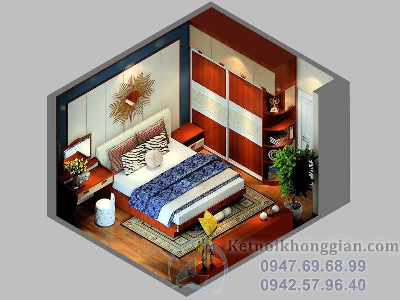 phối cảnh thiết kế phòng ngủ
