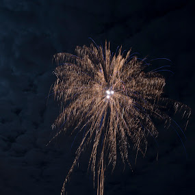new year 2018 by Benny Høynes - Abstract Fire & Fireworks ( lights, 2018, winter, fireworks, newyear, norway )