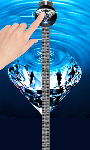 Diamond Zipper Lock