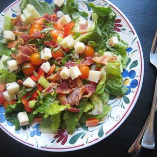 Bacon and Pepper Jack Salad