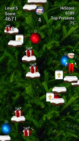 android Elf Jumper for Christmas Screenshot 2