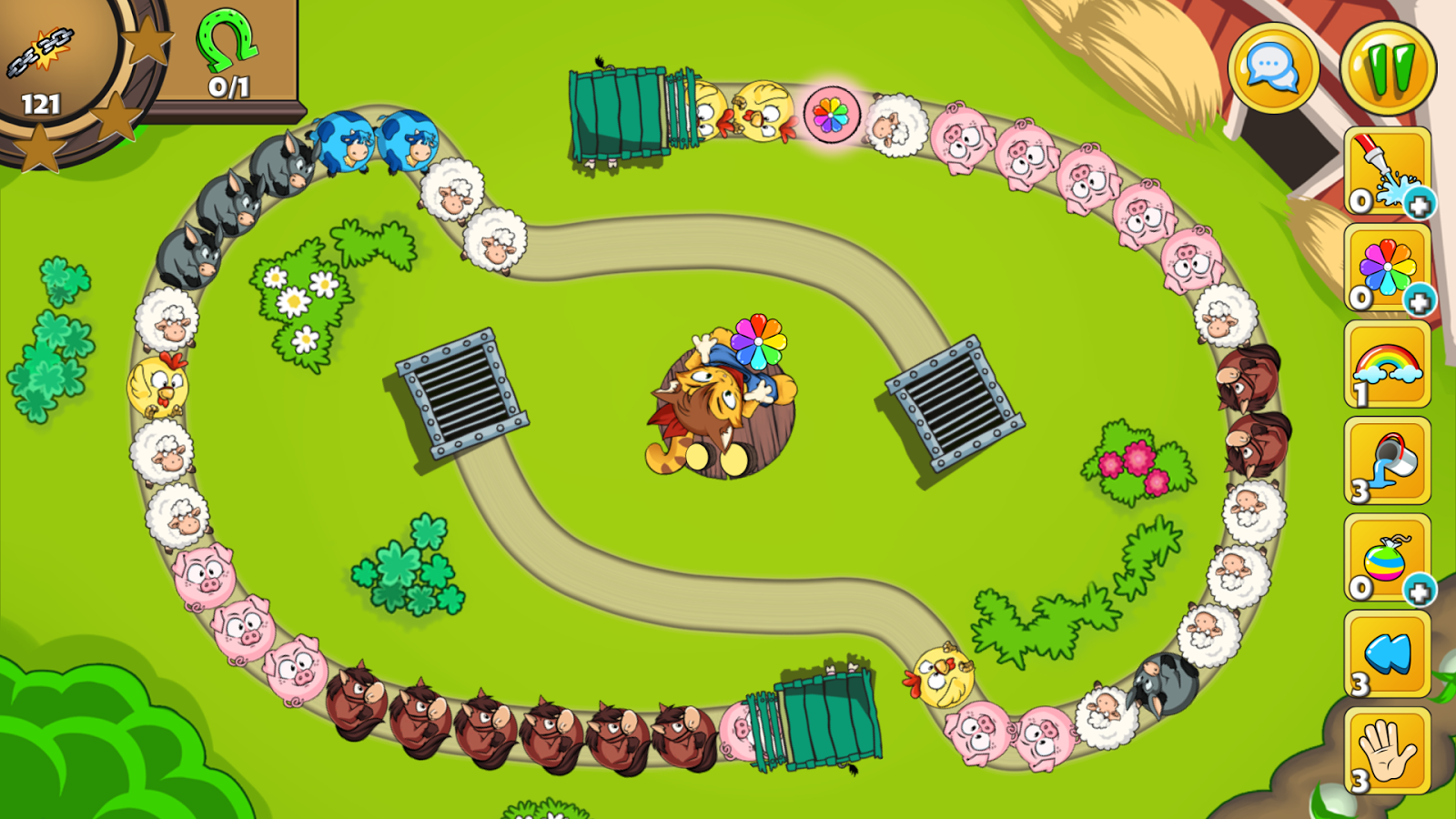 Bubble Zoo Rescue 2- screenshot