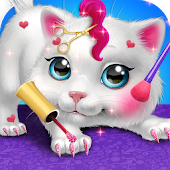 Little Baby Pet Spa & Salon Simulator: Animal Game Android APK Download Free By Crazy Game House