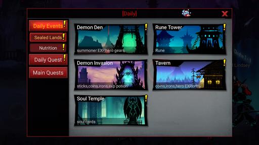 League of Stickman 2-Online Fighting RPG 1.2.7 screenshots 22