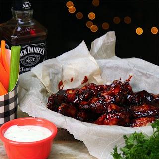 Jack Daniel's Honey BBQ Wings.