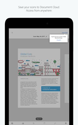 Adobe Scan: PDF Scanner, OCR 17.11.14 screenshots 8