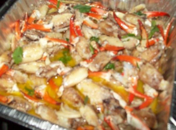 Crab Claw Scampi Recipe