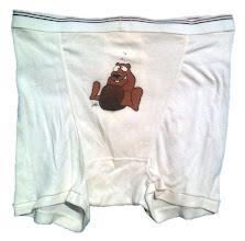Photo: Underwear: Stiff Hairy Pelt logo