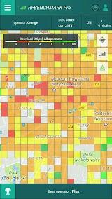 RFBENCHMARK PRO SPEED TEST INTERNET QoS DRIVETEST App