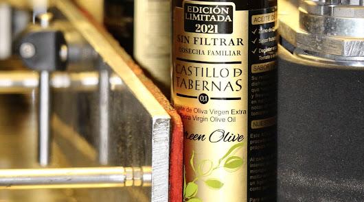 Castillo de Tabernas elabora su tradicional aceite AOVE 'sin filtrar'
