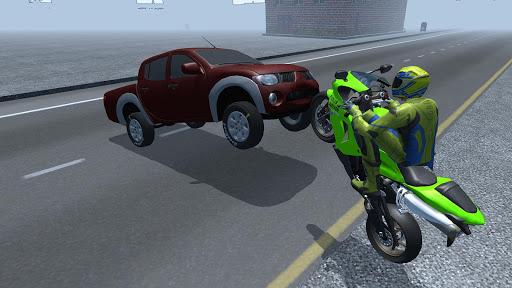 Motorbike Driving Simulator 3D  screenshots 3