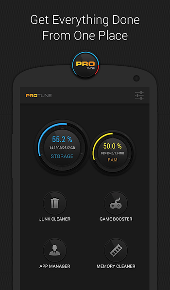 PROtune - Cleaner & Optimizer- screenshot