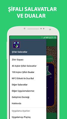 Şifa Salavatları ve Dualar - screenshot
